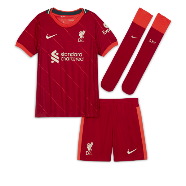 Divisa da calcio Liverpool FC 2021/22 per bambini - Home